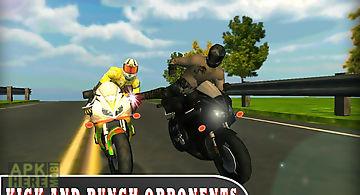 Highway stunt rider