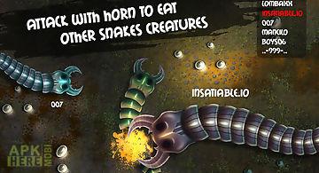 Insatiable io snakes