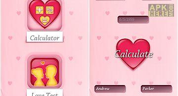 Love calculator - couple games