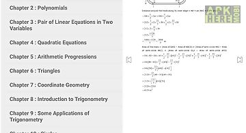 Maths x solutions for ncert