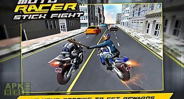 Moto racer stick fight