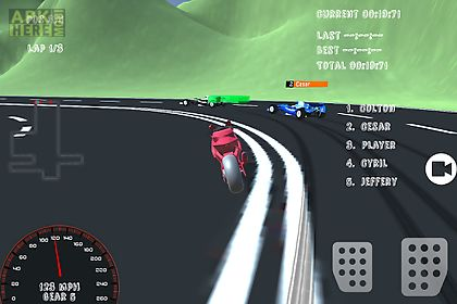 motorcycle formula racing 3d