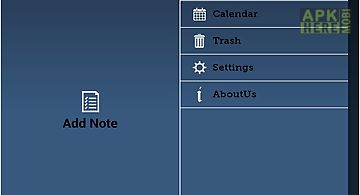 Calendar and notes