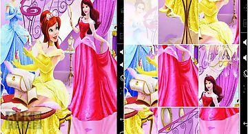 Kids puzzle fairy princess