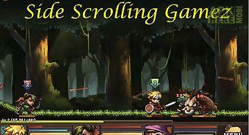 Side scrolling gamez