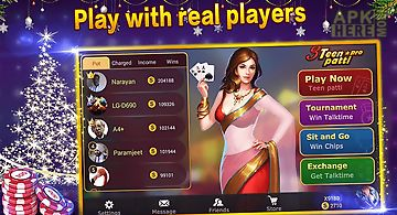 Teen patti pro - indian flush po..