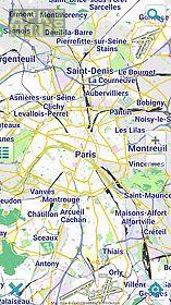 map of paris offline