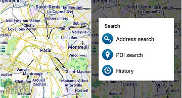 World map offline political for android free download at apk here map of paris offline gumiabroncs Gallery