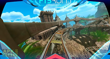 Roller coaster vr attraction