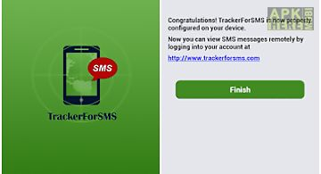 Tracker for sms messages