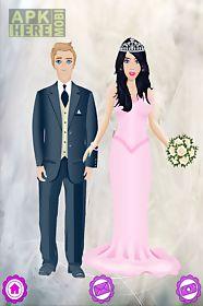wedding salon - dress up girl