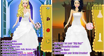 Wedding salon - dress up girl
