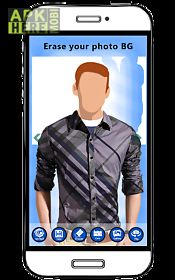 men shirt photo montage