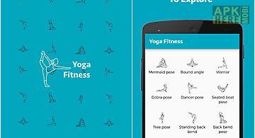 Yoga fitness training