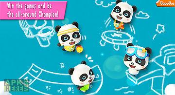 Panda sports games - for kids