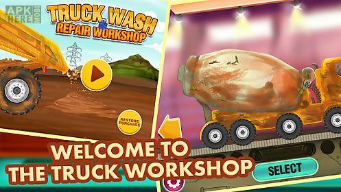truck wash & repair workshop