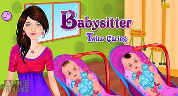 Twins caring - baby games