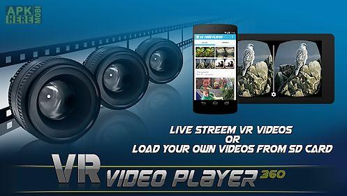 vr video player - 360 videos