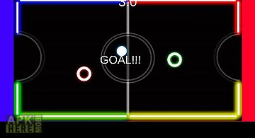 Air hockey 2 players