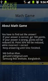 brain math game pro