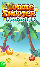 bubble shooter: paradise. bubble summer