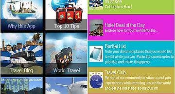 Budget travel advisor - planner ..