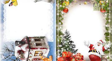 Christmas frames photos new year..
