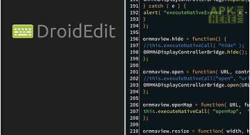 Droid edit
