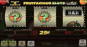 Fruitalicious slot machine free