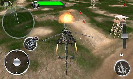 gunship: deadly strike. sandstorm wars 3d