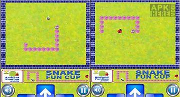 Snake fun cup - androidfuncup