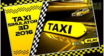 Taxi simulator 3d 2016
