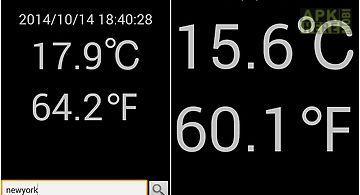 Address air temperature