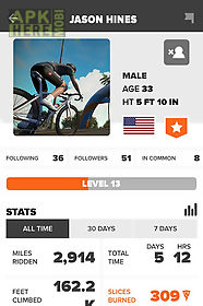 Zwift mobile link for Android free download at Apk Here store