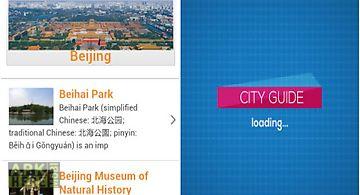 Beijing guide hotels weather