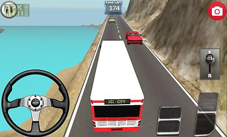 bus speed driving 3d