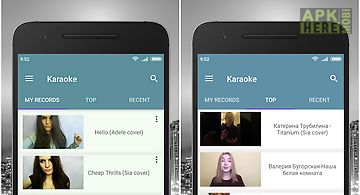 Sing karaoke for Android free download at Apk Here store