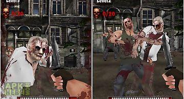 Knife king3-zombie war 3d
