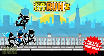 Stick city run 2: running game
