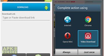 Video download for fb for Android free download at Apk Here