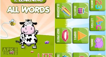 Preschool all words 1 lite