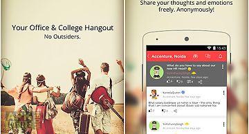 Vee - college, office hangout