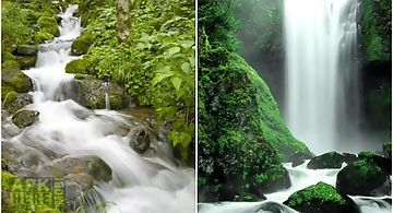 Waterfall sounds nature sounds