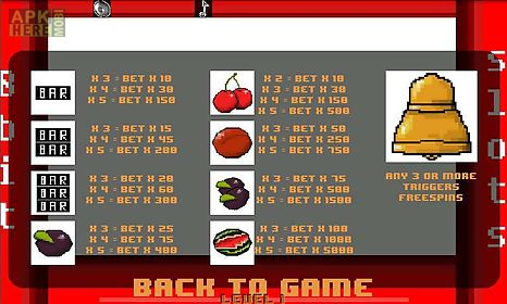 8 bit slots for Android free download at Apk Here store - Apktidy com