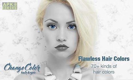 Change Eye Color Hair Color For Android Free Download At Apk - Hairstyle change app download