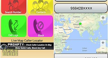 Mobile tracker caller location