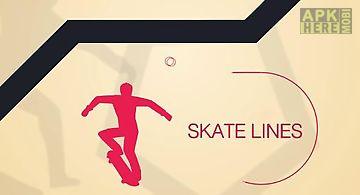 Skate lines