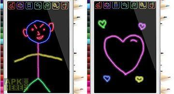 Magic glow draw