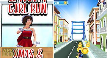 Santa girl run: xmas and adventu..