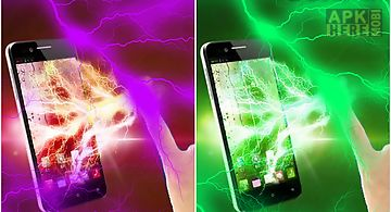 Electric shock screen prank